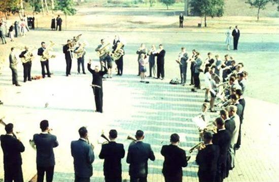 Bläsertag in Neugnadenfeld 1961