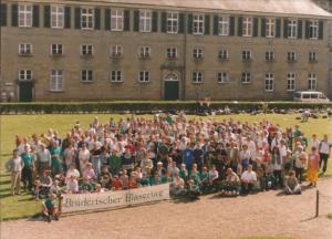 Gruppenfoto in der Burg Bad Bentheim